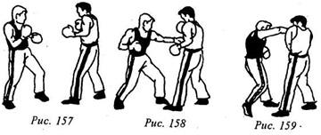 Кикбоксинг. Двухударные комбинации из прямых и боковых ударов.