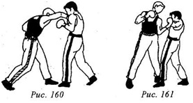 Кикбоксинг. Двухударные комбинации из ударов сбоку и снизу.