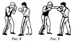Кикбоксинг. Прямые удары руками. Левый прямой удар в голову