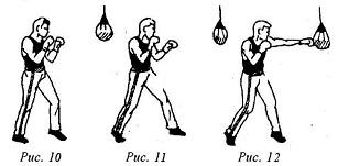 Кикбоксинг. Прямые удары руками. Упражнения с боксерской грушей