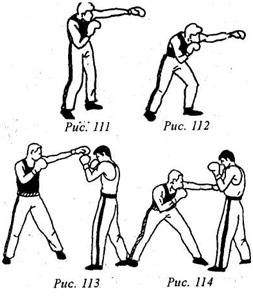 Кикбоксинг. Удары руками. Повторные прямые удары левой в голову и туловище