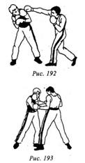 Кикбоксинг. Защита от ударов руками. Защиты движением рук.