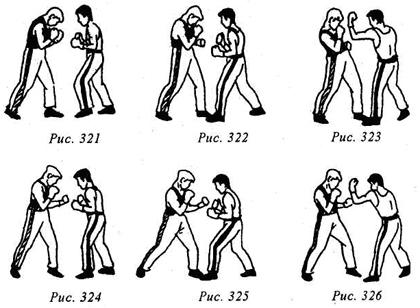 Кикбоксинг. Защита от ударов руками. Защиты движением туловища.
